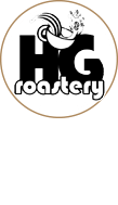 HG Higher Grounds Roastery and Cafe Logo